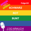 SCHWARZ-ROT-BUNT #83
