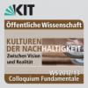 Colloquium Fundamentale WS 2012-13: Kulturen der Nachhaltigkeit - Zwischen Vision und Realität: Diskussion - Städtische Kultur der Nachhaltigkeit