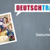 Deutschtrainer – 97 Geburtstag feiern