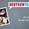 Deutschtrainer – 74 An der Universität II Download