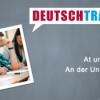 Deutschtrainer – 73 An der Universität I Download