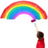 Verbunden durch den Regenbogen
