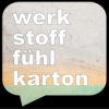 Werkstofffühlkarton 6: Konrad Toenz