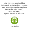 Audio: LU-Reportage bei Lohnunternehmen Dülmer