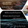 S02E11 - Microsoft Teams Telefonie mit Operator Connect, Windows 11