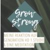 Reaktion auf Abbruch Generation HD 1 Studie & eine MEDITATION FÜR ALLE