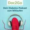 Olympiasieger Matthias Steiner und diabetesDE-Vorstand Jens Kröger