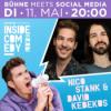 Inside Comedy LIVE erleben: Bühne meets Social Media – Teaser