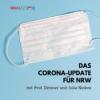 Intensivstation: Hälfte der beatmeten Corona-Patienten stirbt