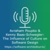 Avraham Poupko & Kenny Baas-Schwegler - The Influence of Culture on Software Design