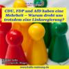"""""""CDU, FDP und AfD haben eine Mehrheit – Warum droht uns trotzdem eine Linksregierung?"""" - Ein Artikel von Niklas Lotz (neverforgetniki) Download"""