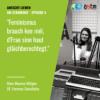 Um Stamminee - Maxime Miltgen: Feminismus brauch kee méi, d'Fraen sinn haut gläichberechtegt. Download