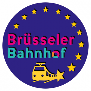 Brüsseler Bahnhof: Das Europäische Parlament