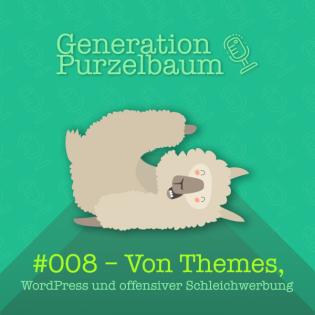 Von Themes, WordPress und offensiver Schleichwerbung