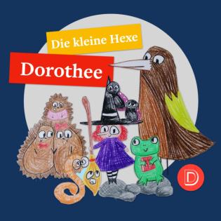 Die kleine Hexe Dorothee trifft Rosalinde Ratte