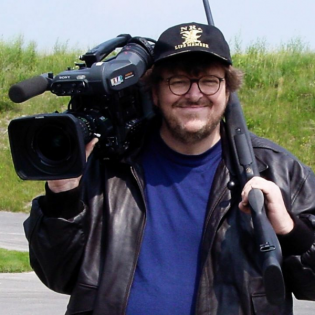 Michael Moore zu «Bowling for Columbine» (Cannes, 2002)