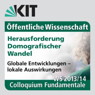 Colloquium Fundamentale WS 2013/2014 - Podiumsdiskussion: Generationengerechtigkeit und demografischer Wandel: ein Blick in die Zukunft