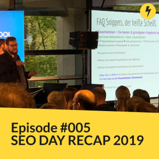 #005 - SEO Day Recap 2019
