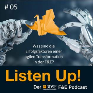Was sind die Erfolgsfaktoren einer agilen Transformation in der F&E?