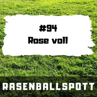 Rasenballspott #94 - Rose voll