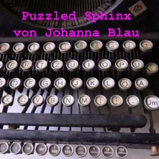 Puzzled Sphinx von Johanna Blau