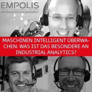 Maschinen intelligent überwachen: Was ist das Besondere an Industrial Analytics?