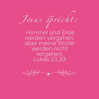 Lukas 21, 33