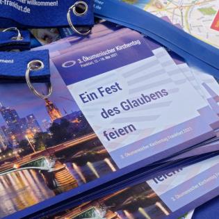 Digital, aber nicht emotional: Der Ökumenische Kirchentag in Frankfurt