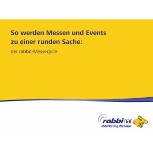 So werden Messen und Events zu einer runden Sache- der rabbit Messecycle