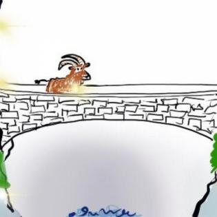 Die Sage von der Teufelsbrücke