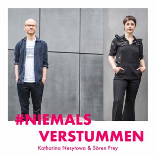 Katharina Nesytowa & Sören Frey darüber, warum politische Haltung vom Herzen kommen und Kunst provozieren muss