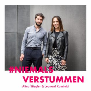 """Alina Stiegler & Leonard Kaminski über die Angst vorm Wort """"Jude"""" undwarum auch Fußball und Eurovision politisch sind"""