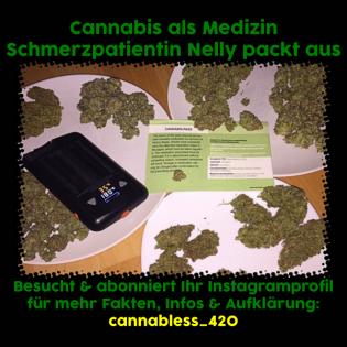 1/3 Legal Kiffen? Medizinisches Cannabis? Jetzt Schmerzpatient werden! Patientin packt aus.