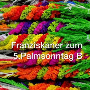 Palmsonntag B - Darius Lebok OFM (2018)
