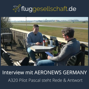 Interview mit Pascal - Aeronews Germany