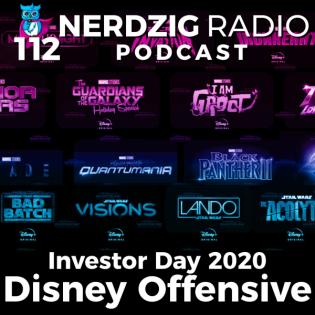 Nerdzig Radio 112 – Investor Day: Disneys große Offensive