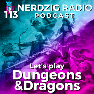 Nerdzig Radio 113 –  Let's play Dungeons & Dragons