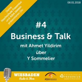 Ahmet Yildirim - Y-Sommeliers - Wiesbaden Radio & Show Staffel 2 - Business & Talk #4