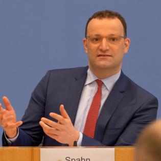 BPK - Spahn, Wieler & Karliczek zur Corona-Lage - 12. Mai 2021