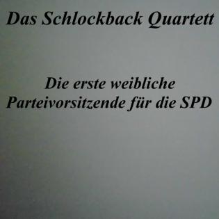 Die erste weibliche Parteivorsitzende für die SPD