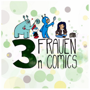 3 Frauen. n Comics. auf Abwegen