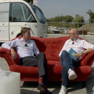 Wie wird die Mobilität der Zukunft unsere Städte verändern? – Das Digitale Sofa #9 mit Tobias Brosze