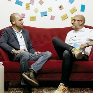Internet aus dem Weltall - Das Digitale Sofa #16 mit Patrick Lewis||KEMWEB