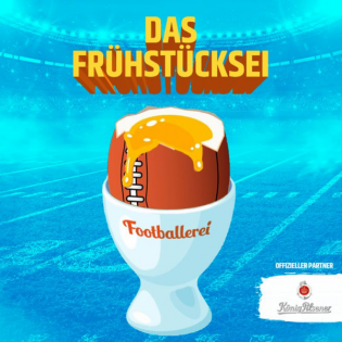 Das Footballerei Frühstücksei mit Daniel, Detti & Niko Backspin Episode 7