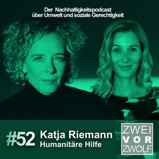 #52 Katja Riemann – Humanitäre Hilfe