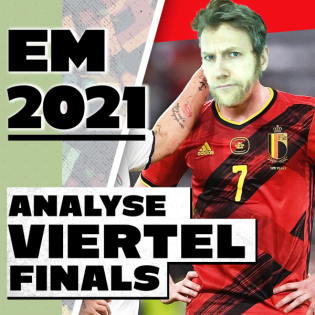EM-Studio #7   Viertelfinals in der Analyse, Halbfinals in der Prognose!