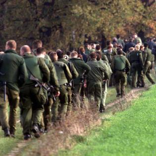 Die Flucht des Schwerverbrechers Frank Schmökel