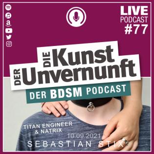 Unvernunft Live 09.09.2021 - Titan & Natrix zu Besuch