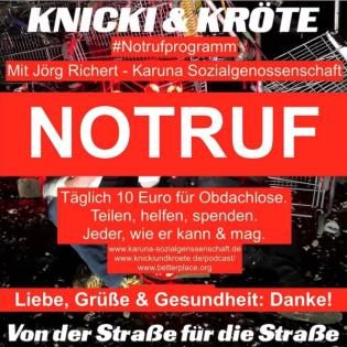 #Notrufprogramm - 09. Februar 2021 (Episode 08), Gast: Jörg Richert