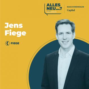 Jens Fiege, Fiege Group - Warum man nicht immer alles selbst machen muss